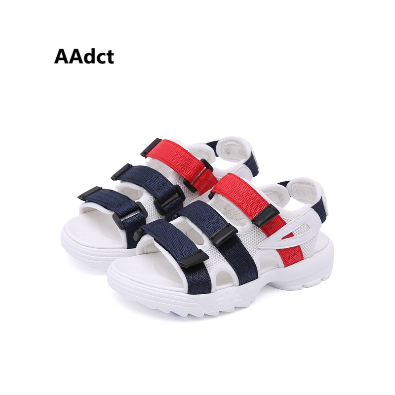 AAdct 2018 summer boys sandals Brand new kids sandals for girls fashion children shoes High-quality