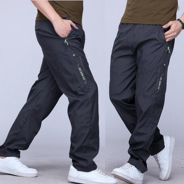 2017 nuevo movimiento de secado rápido del poliester dentro de Europa y de interior y pantalones de trabajo pantalones yardas grandes de los hombres