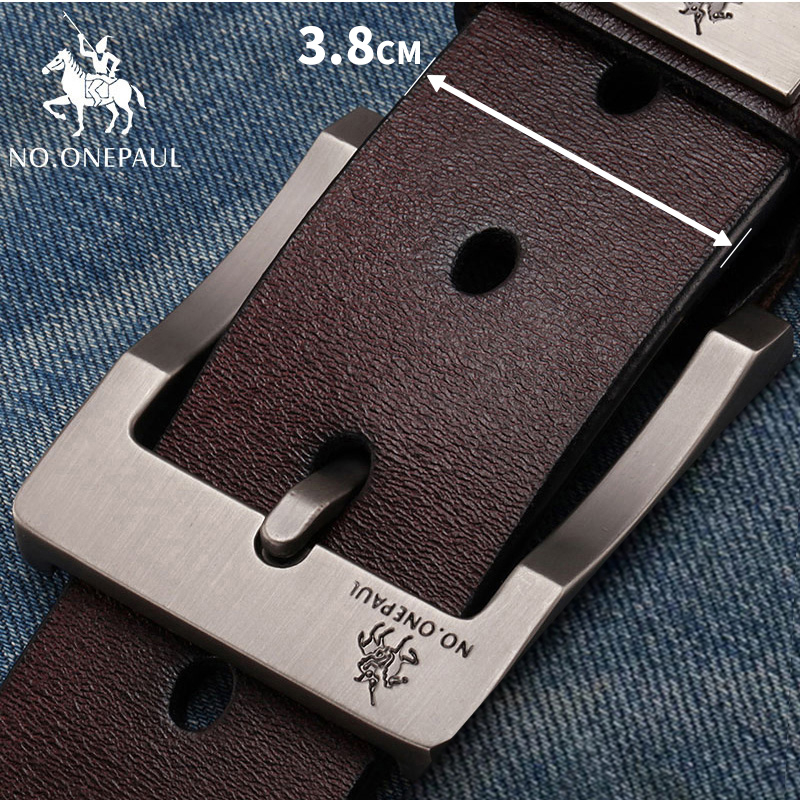 HTB1YhsDaiLxK1Rjy0Ffq6zYdVXad - NO.ONEPAUL buckle men belt High Quality cow genuine leather luxury strap male belts for men new fashion classice vintage pin