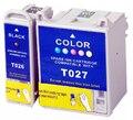 Картридж для EPSON T026 T027 для стилуса фото 810 820 830 830U 925 935 струйный принтер