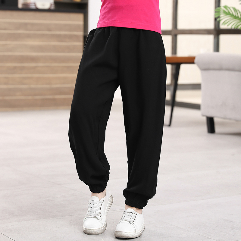 Trousers Kids Pants Clothing Girls Boys Cotton Children Summer 2-11-Years Spring Anti-Mosquito