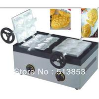 Free shipping Commercial GAS fish shape waffle machine, fish shape cake baker