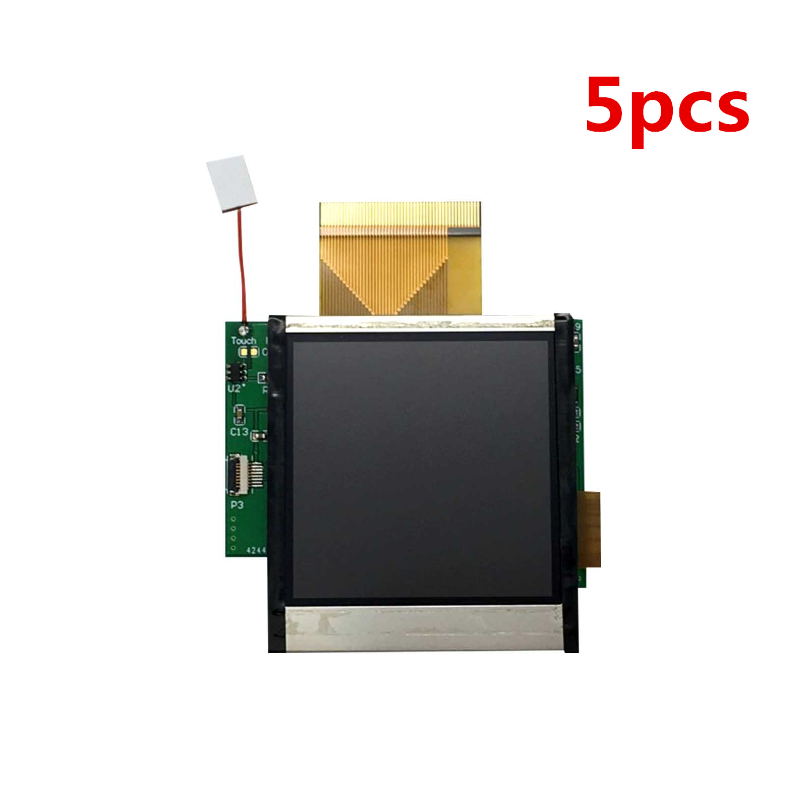 5pcs For Nintend GBC High Light Screen LCD Modification Kit for GBC Console Plug and Use