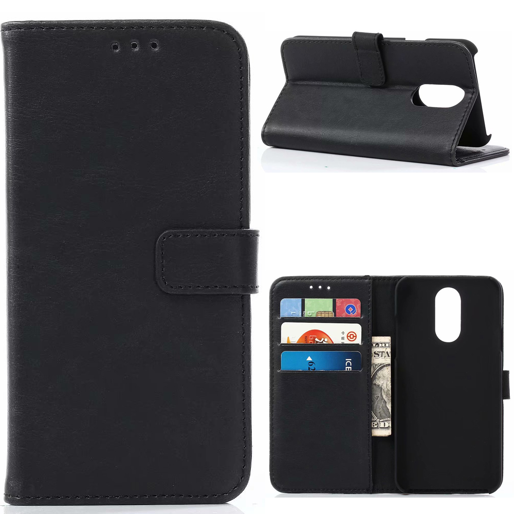 30Pcs/Lot For LG V60 Thinq 5G Case Card Slots Stand Vintage Crazy Horse Wallet Leather Case For LG Style L-03K
