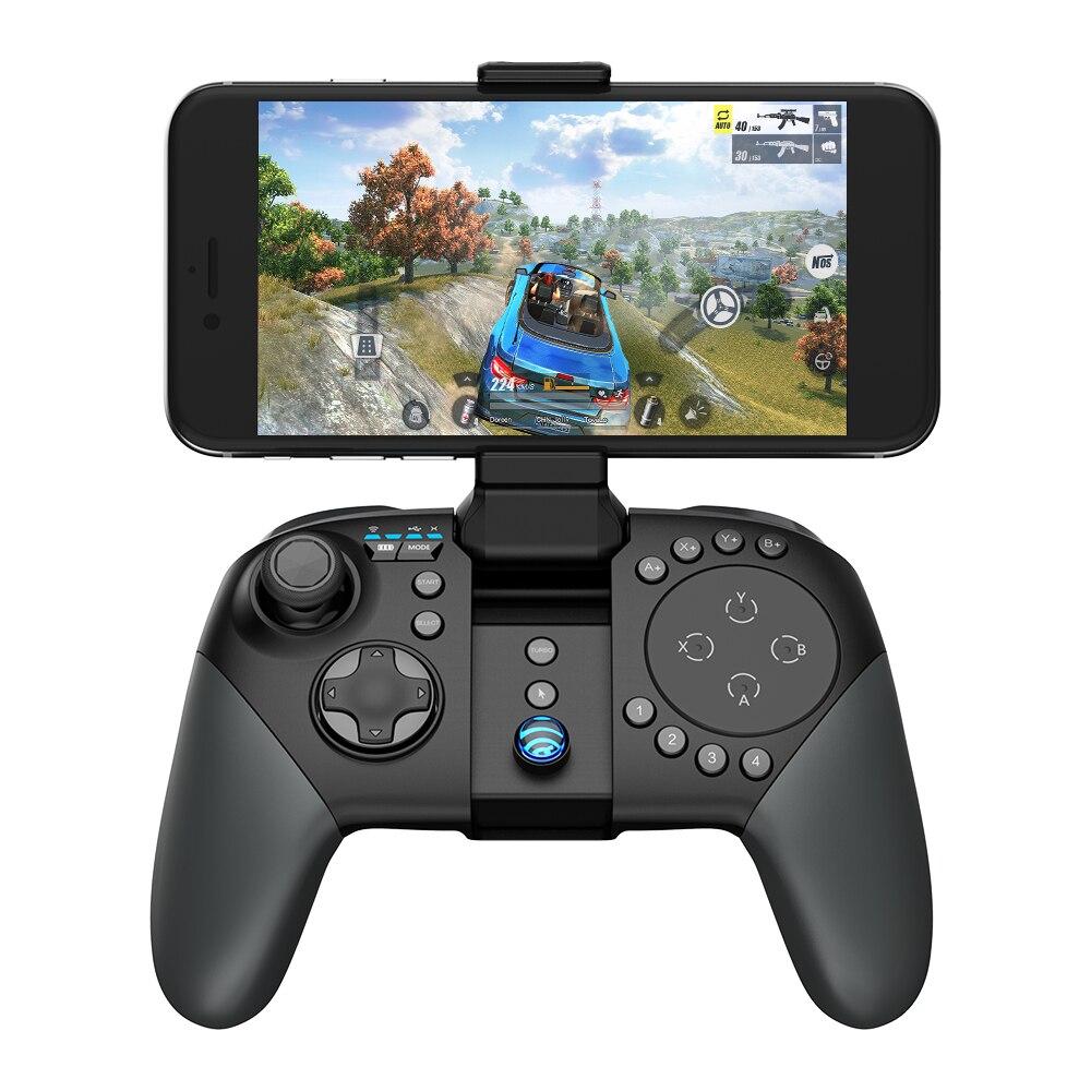 GameSir коврик G5 с трекпадом и настраиваемые кнопки, МОБА/кадров в секунду/RoS Bluetooth Беспроводной игровой контроллер для Android телефоны