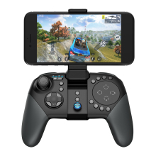 GameSir G5 with Trackpad and Customizable Buttons, Bluetooth Wireless Game Controller for Android/iOS Phone with Bracket
