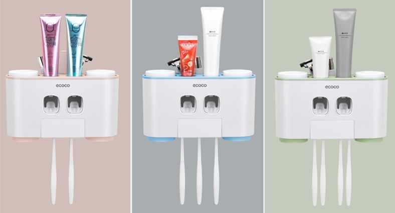 1 sztuka szczotka do zębów uchwyt automatyczny dozownik pasty do zębów + wiele do zębów szczoteczka do zębów szczoteczka do zębów stojak z uchwytem na ścianę łazienka narzędzia