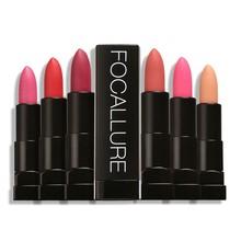 12 Colors Waterproof Matte Lipstick Moisturizer Smooth Lip S