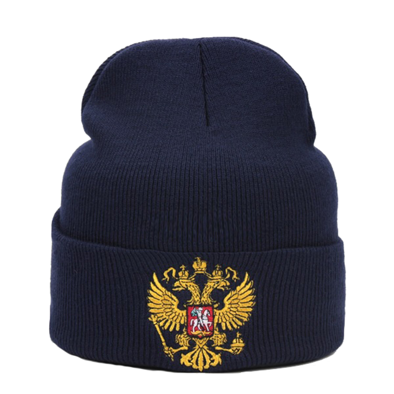 a2dfc8d7bee Russia Men Women Warm Knitted Hat High Quality Fashion Very Cold Casual  Beanies For Unisex Winter Caps Embroidery Skullies Hat - Supplier Cart  International