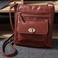 2017 Hot Sale PU Leather bag Vintage Designer Women Crossbody bags Practical small messenger bag for Women