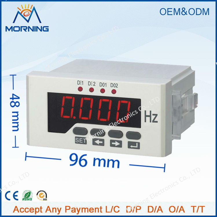 P51 frame size 48*96 mm hot sell factory price single-phase led display ac digital active power meter, for industrial use  цены