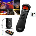 LCD Wireless intervalometer Timer Remote Control Shutter Release as MC-36 for Nikon D700 D300S D300 D200 D2 D3 D3x D3s D2H D2X