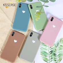 KISSCASE Soft TPU Case For iPhone 7 8 6 6S Plus Cover X XS XR Max Silicone Phone coque iphone