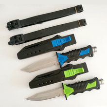 Fixed Blade Survival Hunting Knife 58HRC 440C Tactical Knife Fishing Diver Camping Tools Canivetes Cuchillos