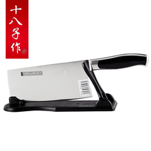 5Cr15Mov stainless steel kitchen knife,you can cut the bones/meat/slice/cut fish/cut vegetables/cut fruit,very sharp durable