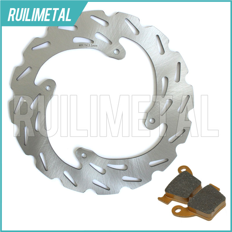 MX Offroad New Rear Brake Disc Rotor Pads Set for HONDA CRF 250 X 04-12 CRF450R 02-14 CRF 450 X 05 06 07 08 09 10 11 12 CRF250X offroad hand lever fit honda crf 250 450 07 12