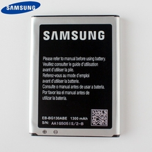 Original Samsung Battery EB-BG130ABE For Galaxy Star 2 Pro Star2 G130 Genuine Replacement With NFC 1300mAh