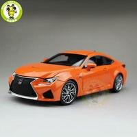 1/18 Toyota Lexus RCF литой модельный автомобиль игрушки детям подарки для мальчиков девочек коллекция хобби оранжевый