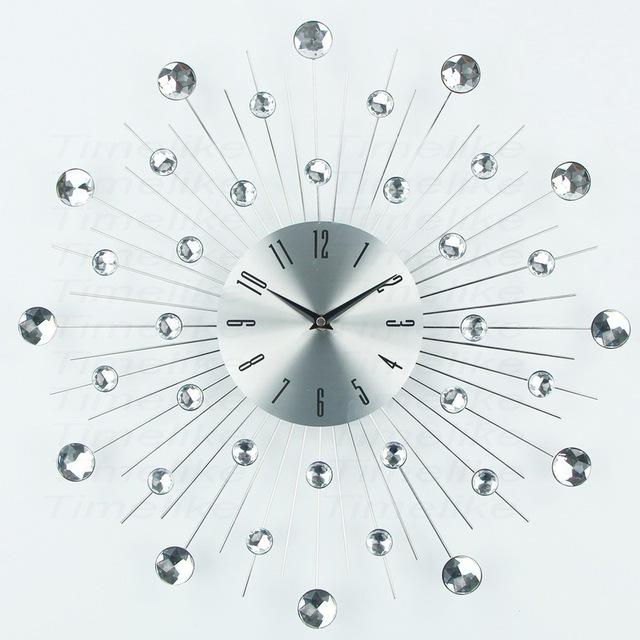 Luxury Design Large Metal Art Wall Clock