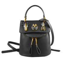 Высококачественные женские рюкзак Винтаж Дизайнер Высокое качество голова животного маленький рюкзак школьные сумки для девочек-подростков путешествия рюкзак
