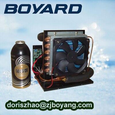 R134a marine mini condenser compressor unit for mini refrigeration system