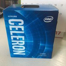 Intel celeron g3900 duplo núcleo 2.8 ghz tdp 51 w lga 1151 2 mb cache com hd gráficos ddr4 ram14nm desktop cpu