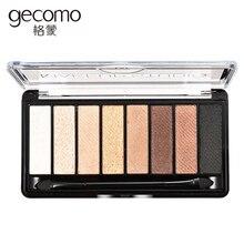 9 Colors Palette Eyeshadow With Brush Make Up Glamorous Smokey Eye Shadow Shimmer Makeup Kit For Women Girl Gift