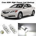 4Pcs Super Qulity Cree Chips Led For ALFA ROMEO MITO P21W/5W DRL LIGHT BULBS 7443 T20 6000K 10SMD CANBUS WHITE Free Shipping