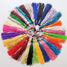 100pcs/lot 32 colors tassel silk fringe Manual decorative tassels for sewing curtains garment home decoration accessories