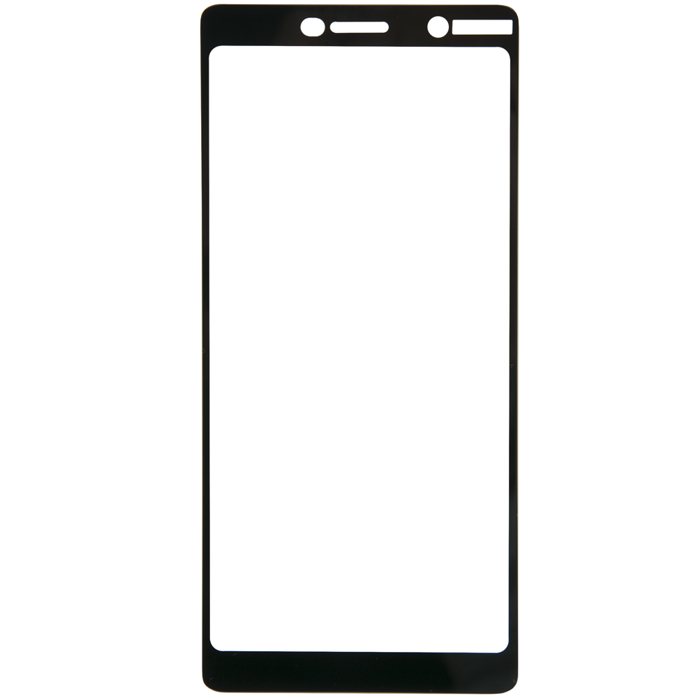 Protective glass Red Line for Nokia 7 Plus Full Screen black