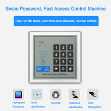 Eseye RFID Access Control System Security Device Machine Proximity Card Reader Entry Door Lock Quality For Door Access Control tivdio wiegand tcp ip network entry access control board controller panel for 4 door 4 card reader generic f1715l