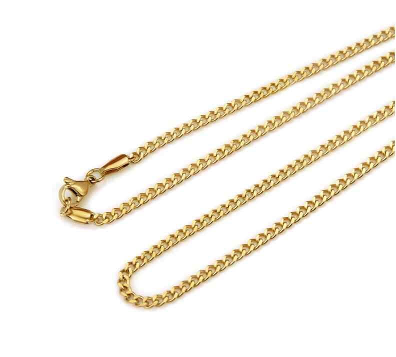 גברים של היפ הופ שרשרת בלינג בלינג אייס מתוך טניס שרשרת 60cm מיאמי קובני קישור יוקרה מותג זהב צבע גברים שרשרת תכשיטי מתנות