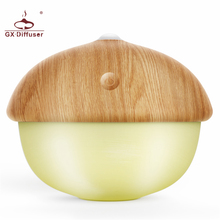 GX Diffuser New Nut Shape USB Rechargeable LED Night Light Touch For Indoor Decoration