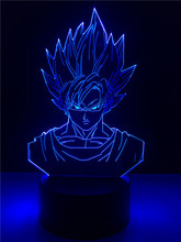 Lampka 3D Dragon Ball