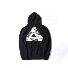 Skateboards palace s-xl sweat triangle sweatshirt hoodies mens male cotton quality