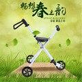 Niños de Tres ruedas de Bicicletas Plegables Carritos de niños para Niños Scooter de Pie Plegable Portátil Silla de Ruedas