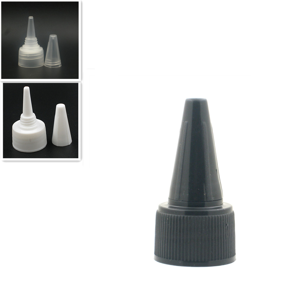 20-410 Plastic Dispensing Cap Ribbed Twist Top Cap X10