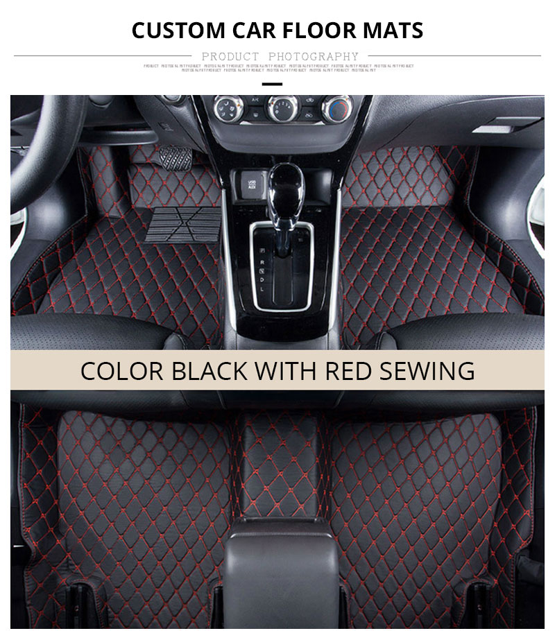 For LHD Hyundai Kona Kauai 2018 2017 Floor Mats Custom Rug Auto Interior Foot Mat Pad Hyundai Encino Car Accessories Car-styling (1)