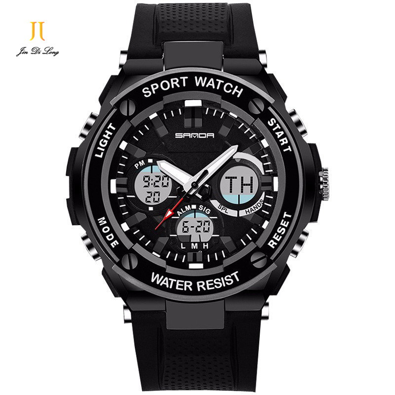 Brand Fashion S-shock Military Sport Watch Men Army Quartz Digital Watch Luminous <font><b>LED</b></font> Stop Watch Multi-function Clock Relojio