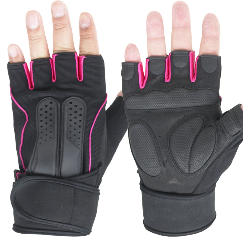 New men's fitness sports gloves summer sun outdoors skating exercise dumbbell weightlifting gloves wrist