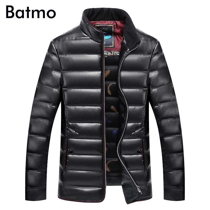 BATMO 2018 new winter high quality men's   down   jacket parkas,90% white duck   down     coat   cold protective clothes,big size L-8XL
