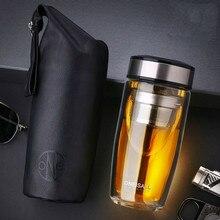 High Quality Double Walled Glass Mug Coffee Tea Mug Cups My Bottle