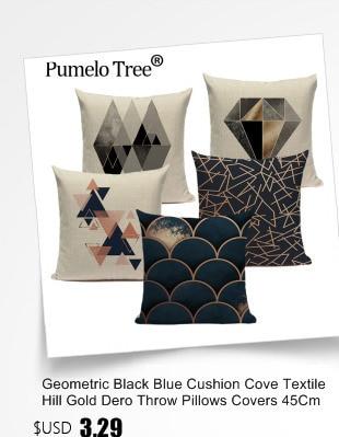 oreiller décoration canapé lit maison motif escargot coton Housse de coussin