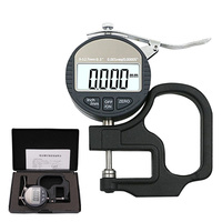 0.001mm Electronic Thickness GaugeMicrometro Thickness Tester With RS232 Data Output 10mm Digital Micrometer Thickness Meter
