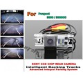 For Peugeot 3008 / 3008CC Car Intelligent Parking Tracks Camera / HD Back up Reverse Camera / Rear View Camera