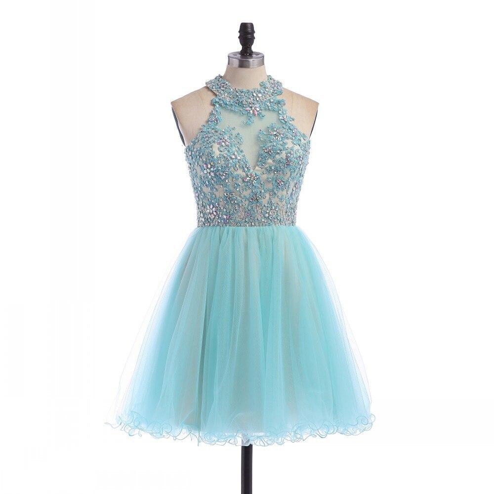 Sears vestidos azul turquesa