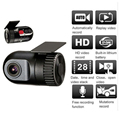 720P HD Smallest Mini Car DVR Camera Car Video Recorder Camcorder Small Vehicle Dash Camera with G-Sensor