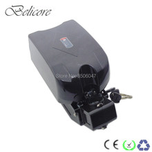 free shipping 24 volt folding electric bike battery 24v 10ah 12ah 13ah 14.5ah 15ah 16ah for viking e-go bike(China)