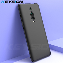 KEYSION Matte Phone Case For Xiaomi Mi 9T Pro for Redmi K20 Full Protection Hard Slim Back Cover for Xiaomi Redmi K20 Pro Mi9T