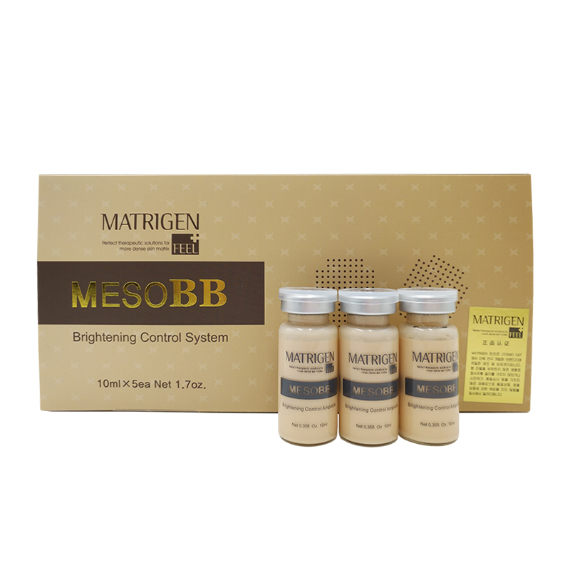 Matrigen MesoBB Brightening Control System Ampoule Skincare Glow Treatment